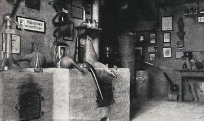 Alkemiskt laboratorium